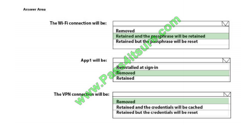 Pass4itsure Microsoft MD-101 exam questions q13-2