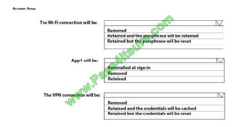 Pass4itsure Microsoft MD-101 exam questions q13