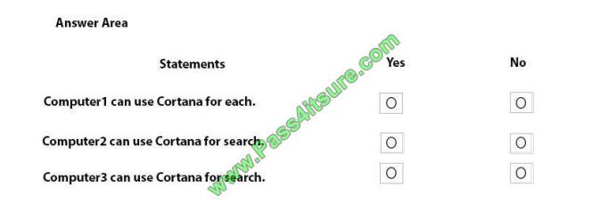 Pass4itsure Microsoft MD-101 exam questions q4-2