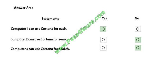 Pass4itsure Microsoft MD-101 exam questions q4-3